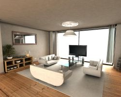 Apartment design by Duophonix