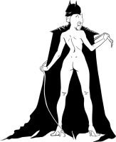 Catwoman + Batman by BrigidAllanson
