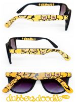 Pichu Brothers Pokemon Sunglasses by DablurArt