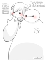 Torakun and Baymax by torakun14
