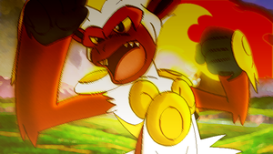 Infernape's Rage by LeoBZs