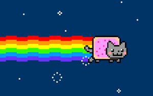 nyan cat wallpaper by Nyakiru