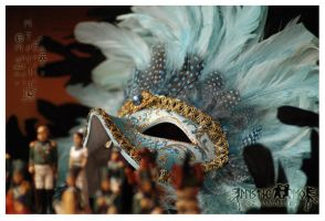Venetian mask I by MysticMo
