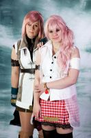 The Farron Sisters -FFXIII- by StarDustShadow