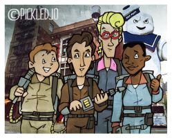 The Real Ghostbusters by pickledjo