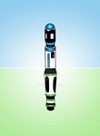 10th Doctor Sonic Screwdriver by jacqui-kate
