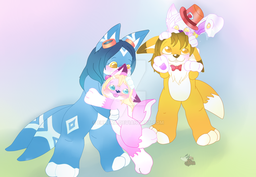 Little Familly by Erhena