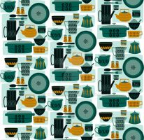 Kitchen Pattern by Zivrezcara