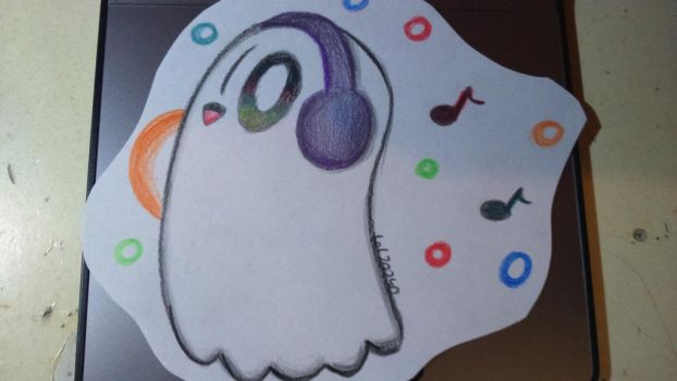 Napstablook From UNDERTALE  by lol20240-2