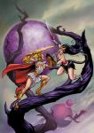 Shera VS Catra_collaboration by FranciscoETCHART