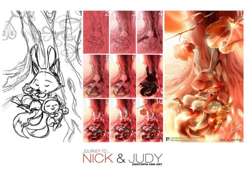 JOURNEY TO NICK and JUDY by Apolar