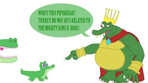 King K. Rool and Gummy by SauseSource