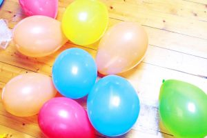 balloons by Maryonisnotdead