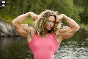 Big Female Bodybuilder Biceps 4 by edinaus