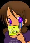 I am Fine :,) by axelrules1231