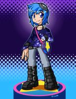 Ramona flowers style by rongs1234