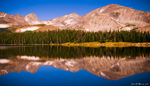 Indian Peaks Reflections by kkart