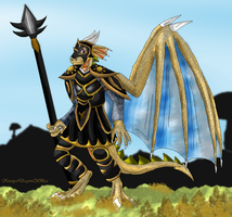 Free, Morrowind`s own Dragon Warrior by KuznyaDragonOfBaa