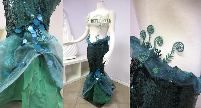 Myrtle Green Walking Mermaid Tail by Firefly-Path