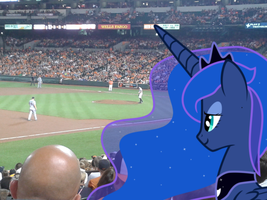 Your princess enjoys this so-called baseball. by Legate47