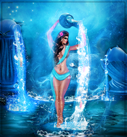 Aquarius by Vickyfab