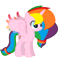 Rainbow Splash Commission Restablished by Lightning-Bliss
