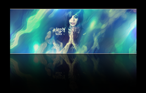 andy sixx signature by NewX4