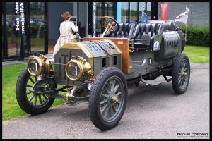 1907 Itala 35-45 HP by compaan-art