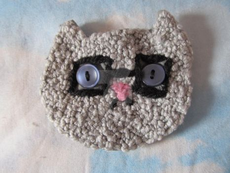 Squashed Cat Face by FroggyTheSuperhero