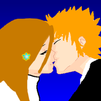 Ichihime Kiss by RoseDragonGuardian92