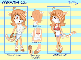 Maya the Cat Ref by DefectiveStudios