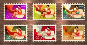 apricum, stamp graphics by apricum