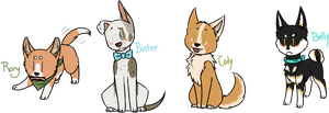 H-T: Dog Cheebs by Trickychan