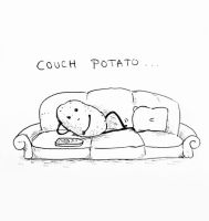 couch potato by WnD-HYDE