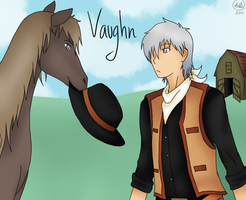 Harvest Moon: Vaughn by KayMarie94