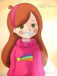 Mabel Pines [Gravity Falls] by DannexReloadex