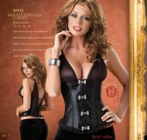 Diamond Darling Corset by Oniko-art