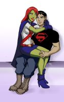 Miss Martian SuperBoy - 00 by Drakyx