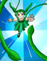 Bulbasaur Girl Vine Whip by Honsmaster