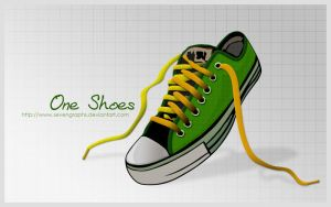 One Shoes by sevengraphs