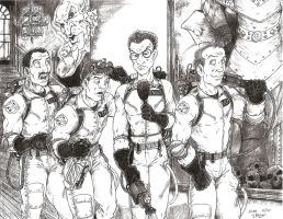 The Ghostbusters by Crash2014