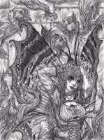 The Other Eye - pencil by yeaka