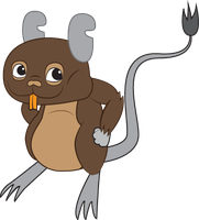 Degu Vector by SurnThing