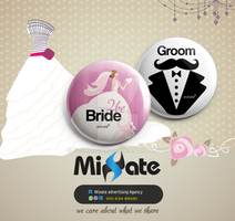 Wedding Pins Preview by ElsharQawy