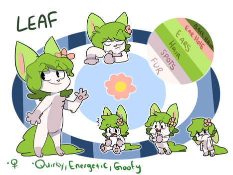 A Leaf reference 2017 by leafadee