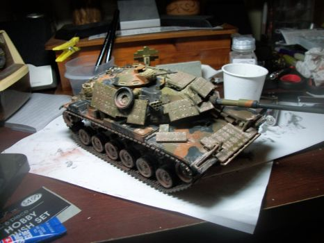 m60 tank with reactive armor by shank117