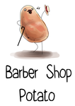 Barber Shop Potato by Kiakogeoscch