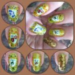Attack on Titan Manicure Left by MikariStar