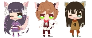 Baby Chibi Commish Batch by Mishierru