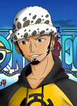 Trafalgar Law fanart by TioVenom